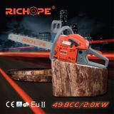 A corrente de madeira da estaca da gasolina viu com CE CS5200