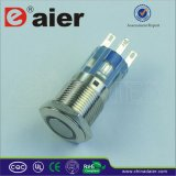 12volt LED Illuminated Push Button Switch, Electrical Switch (LAS1-16F-11E)