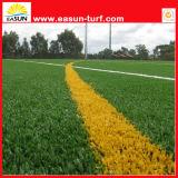 Alta hierba de Qualty Artifiial con la certificación del SGS para ajardinar y los deportes