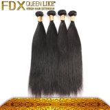 完全なヘッド毛の束のマレーシアの膚触りがよくまっすぐな実質の毛の拡張