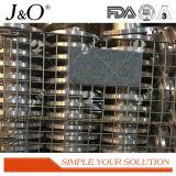 Valvola di pizzico industriale della lega di alluminio di AISI con la flangia