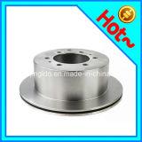 Rotor de disque de frein de la fonte Ht250/G3000 grise pour le croiseur 42431-60080 de cordon de Toyota