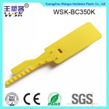 Selo plástico plástico do fecho de correr da alta qualidade 35cm da manufatura da fábrica do selo de China
