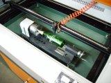 2015 고속 두 배 맨 위 직물 Laser 절단기 이산화탄소 Laser 절단기