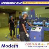 自動熱くするPEのフィルムによってびん詰めにされる飲料のパッキング機械装置