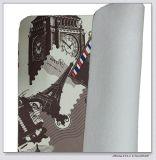 Cuero de cuero sintetizado del PVC con grabado impreso para los muebles, bolso de mano