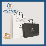 Черный Matt Paper Bag с Logo и Handle (CMG-MAY-035)