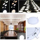 3W, das unten ringsum das ultra dünne helle LED Panel der Decken-Lampen-90lm/W 85-265V rund beleuchtet