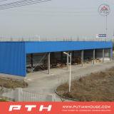 Oficina durável da construção de aço do baixo custo