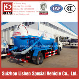 Caminhão de sucção de esgoto DFAC Caminhão fecal a vácuo de 4 * 2 equipamentos de esgoto