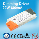 SAA Cer anerkannte Dimmable LED Stromversorgung 20W 600mA