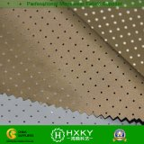 Tela de la pongis del poliester 30d con el acabamiento de la capa y del acoplamiento