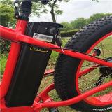"""26 """" 뚱뚱한 타이어 Li 이온 건전지 Rseb506를 가진 전기 자전거 자전거"""