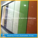 De gebouwde Stevige Countertop van de Kleuren van de Oppervlakte Kunstmatige Rode/Groene/Witte Plakken van de Steen van het Kwarts