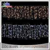 Indicatore luminoso di natale commerciale esterno della decorazione del ghiacciolo cerimonia nuziale/del partito LED