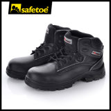 Steel negro Safety Shoes, Steel Toe Safety Shoes para Men M-8356