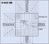 628tons水平油圧射出成形機械こんにちはG628