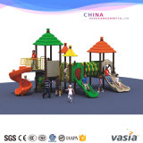 子供の屋外の運動場の熱い販売のためのプラスチックスライド装置