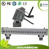 DMX512 RGBW (4 1) Jahr-der Garantie in der LED-Wand-Unterlegscheibe-With3