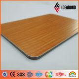 Fabrik-Preis-Goldmetallische geprägte Aluminiumplatte (Identifikation 012B)