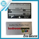 Стикер цены по прейскуранту завода-изготовителя высокого качества изготовленный на заказ сильный слипчивый алюминиевый
