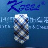 Clip personnalisé de polyester de vérification sur la cravate