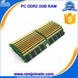 Desktop를 위한 낮은 Density Kvr667D2n5/2g 240pin DDR2 2GB RAM Memory
