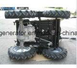 De Kruiwagen van /Power van de Lader van de Tuin van de Verkoop van de fabriek (Vlak Bed)
