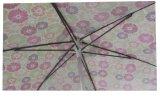 parapluie de plage de 8.5FT, côte de fibre de verre, impression principale Rabric, parapluie de Tranfer de polyester