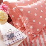 100%年の綿によって印刷される寝具セット