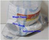 나이지리아 아프리카를 위한 다채로운 Printing Cheap Abella Baby Diapers