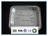 سبيكة 8011-0 7 ميكرون [لرج كبستي] مطعم إستعمال [ألومينوم فويل] وعاء صندوق