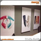 Wall Mounting Standing를 위한 알루미늄 Textile Frame