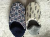 اثنان [كلور برينتينغ] أحذية داخليّة ([ر-سل1608])