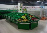 슈퍼마켓 Shop 상점 Fresh Fruit와 Vegetable Display Rack