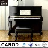 Piano haut mécanique C23 d'instrument musical