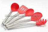 Insieme dell'articolo da cucina dell'utensile della cucina con la maniglia Sk24 dell'acciaio inossidabile