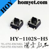 Interruttore di tatto di alta qualità SMD con 6*6*9.5mm 4pin (HY-1102S-H9.5)