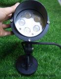 15W lumière d'horizontal de jardin de la CE DEL de l'aluminium (JP83552B)