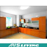 Produto caritativo gabinete de cozinha personalizado da madeira contínua do Teak (AIS-K445)