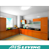 Cabina de cocina modificada para requisitos particulares producto de madera sólida de la teca (AIS-K445)