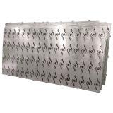 Fachada perfurada do alumínio da máquina do CNC