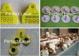 Laser die Machine voor de Componenten van de Computer van het Metaal merken