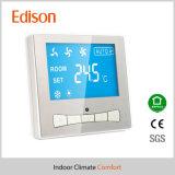 Thermostat argenté de pièce de Digitals (TX-168)