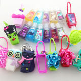 China Wholesale Promotional 29 Ml Cartoon Silicone Hand Sanitizer Garrafa Holder