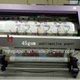 45/70/80/100GSM High Speed Sublimation Heat Transfe Paper Roll Size