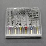 Hightの品質歯科内部の回転式Dentsply ProtaperはSxF3 21mmをファイルする