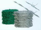 Провод колючей проволоки обеспеченностью/загородки безопасности колючий