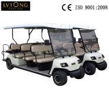 Vehículo eléctrico del golf de los asientos del amarillo 11 en venta