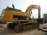 Gatto usato 345D, escavatore dell'escavatore del gatto della grande scala